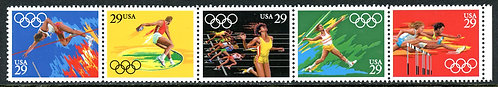 U.S. Scott 2553-2557 Summer Olympics Strip of Five