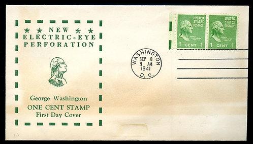U.S. Scott 804 (2) Electric Eye FDC Post Marked in Washington, DC