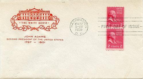 U.S. Scott 850 FDC Post Marked in Washington, DC