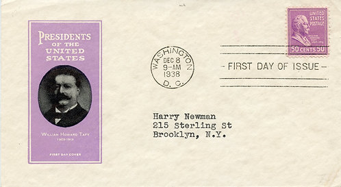 U.S. Scott 831 FDC Post Marked in Washington, DC with Ioor Cachet