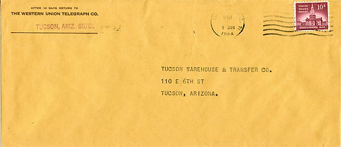 U.S. Scott 1044 on Double Weight First-Class 1964 Cover