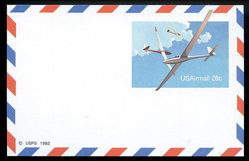 U.S. Scott UXC20 Mint Postal Card Picturing Gliders