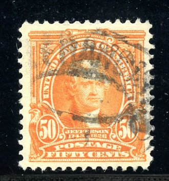 U.S. Scott 310 VF Used