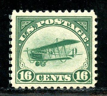 U.S. Scott C2 16 Cent Curtiss Jenny VF MNH