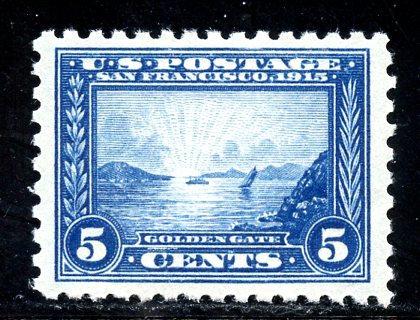 U.S. Scott 403 FVF MNH w/Cert.
