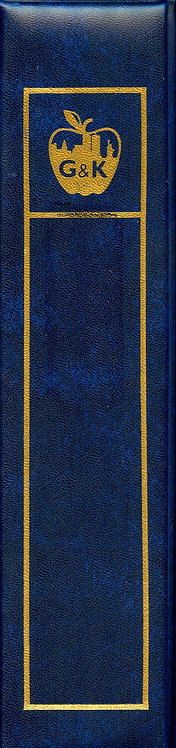 G&K Cover Album in Blue - Gently Used with 50 Pages