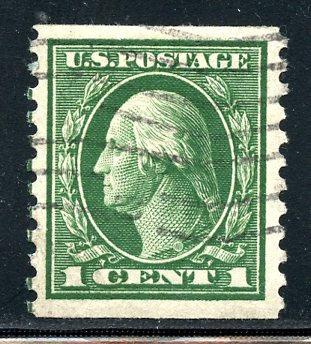 U.S. Scott 443 VF Used Horizontal Coil