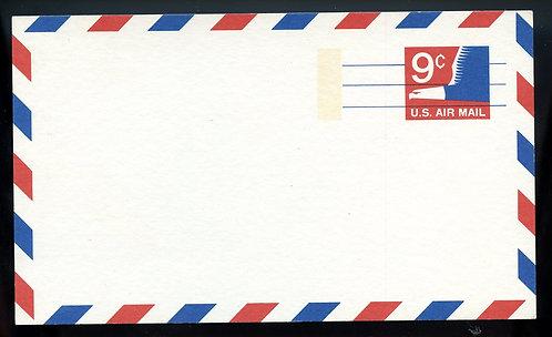 U.S. Scott UXC10 Mint Postal Card Picturing A Stylized Eagle
