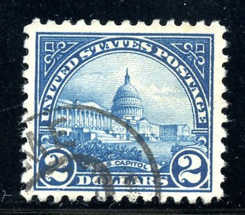 U.S. Scott 572 VF Used