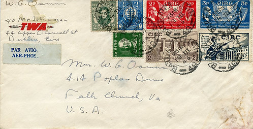 Ireland Scott 80, 83, 88, 103-104, 120, 124 On Air Mail To U.S.