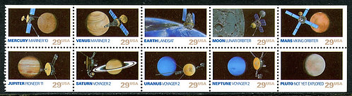 U.S. Scott 2577a MNH Space Exploration Booklet Pane