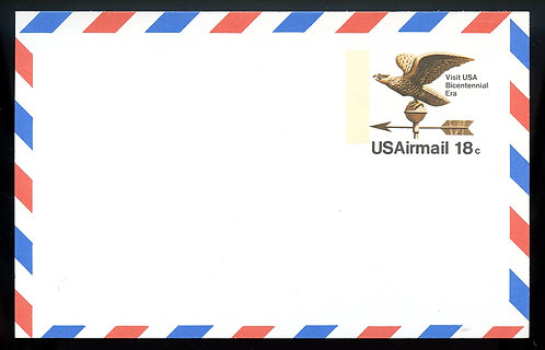 U.S. Scott UXC15 Mint Postal Card Picturing An Eagle Weathervane