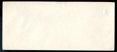 U.S. Scott U436 Albino Three Cent Washington Stamped Envelope