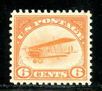 U.S. Scott C1 6 Cent Curtiss Jenny VF MNH