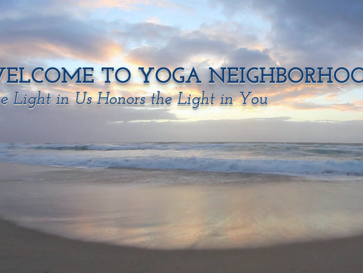 New Website Design! yoganeighbood.org