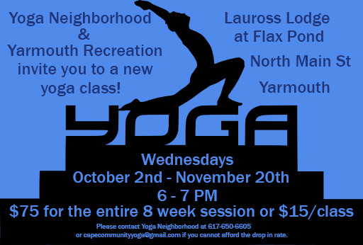 New Yoga Class for the Fall!!!