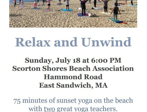 Join Us for a Fundraiser on the Beach!
