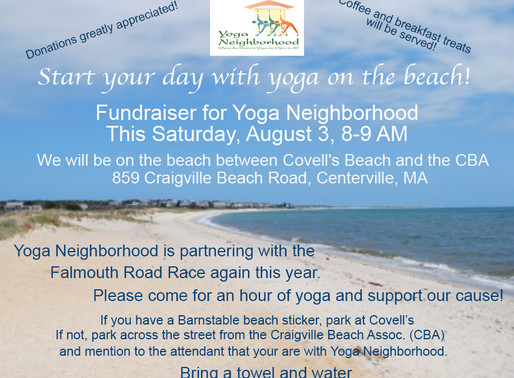 Beach Yoga for a Cause!!!
