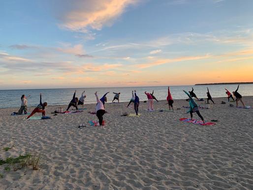 Beach Yoga to return to Yarmouth!