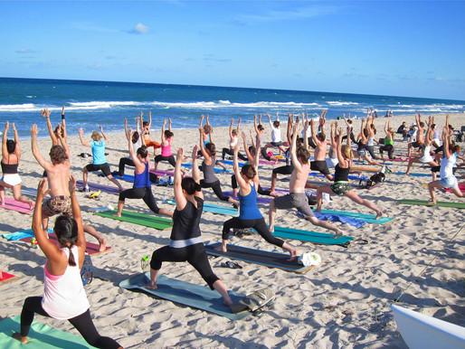 Beach Yoga Returns in June!