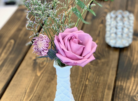 How to Create a Gorgeous (Tiny) Arrangement