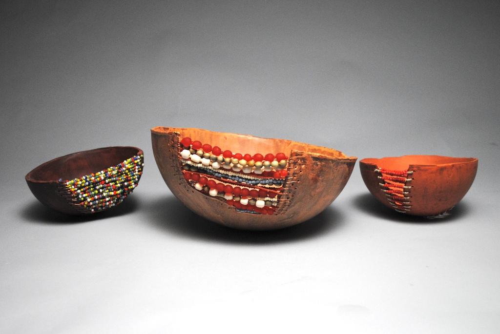 Adorned- Beaded Bowls