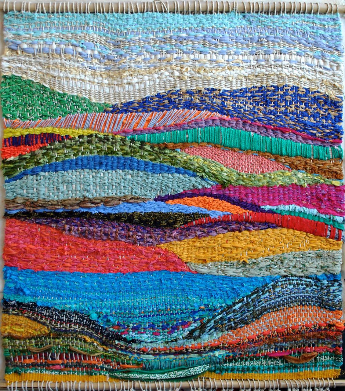 Woven Landscape Tapestry