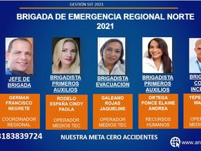 REGIONAL NORTE CON NUEVAS BRIGADAS DE EMERGENCIA