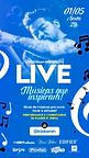 LIVE - MÚSICAS QUE INSPIRAM