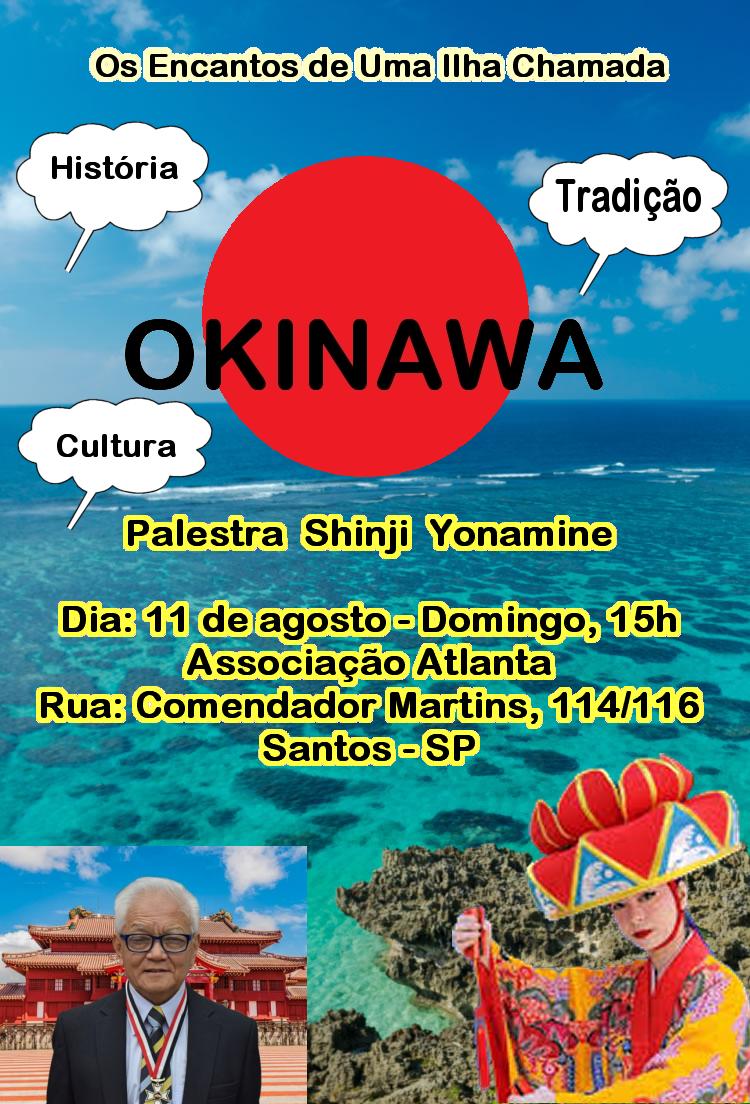 PALESTRA SHINJI YONAMINE - 11 de Agosto