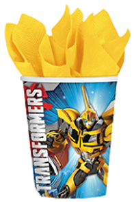 Transformers party cups | transformers party | Boys party | Transformers party supplies online shop Australia