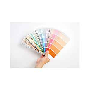 colour range chart brand colour