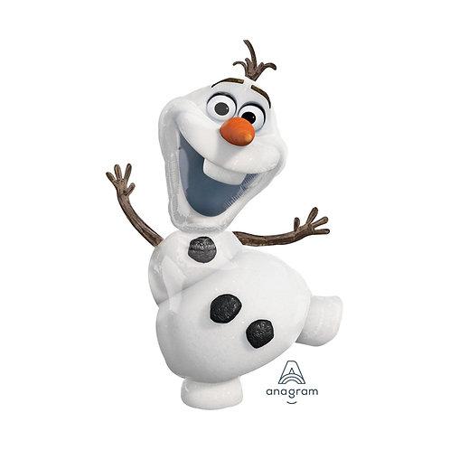 Disney Frozen Olaf foil balloon - Disney Frozen Olaf Character balloon