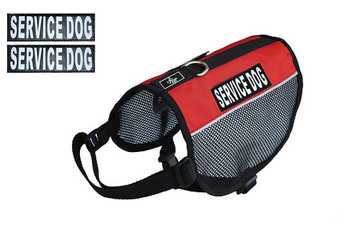 """Wholesale: Mesh """"Service Dog"""" Vest"""