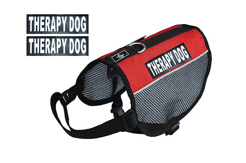 "Wholesale: Mesh ""Therapy Dog"" Vest"