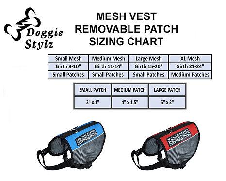 Mesh Vest: Various Patches
