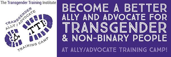 Ally/Advocate Training Camp