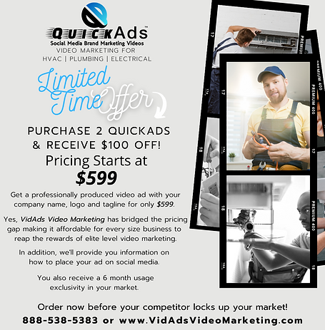 QuickAds for HVAC Plumbing Electrical.pn