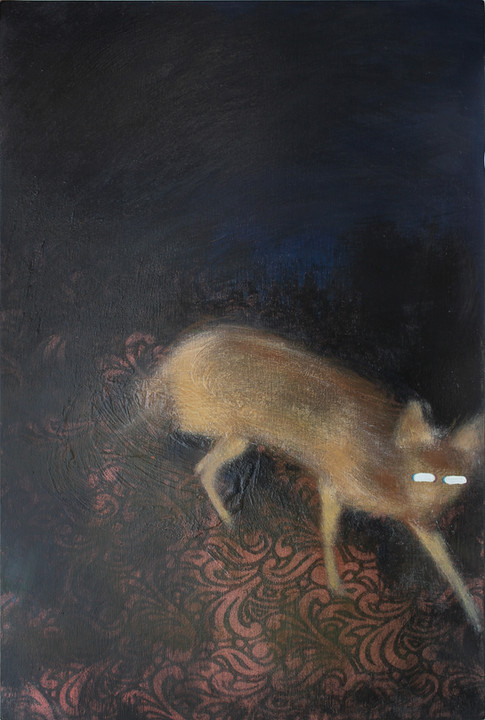 Róka (bronz csipkés)