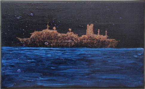 Arany hajó, gyöngyház tenger
