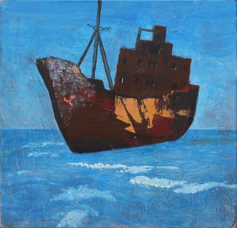 Rozsdás hajó 1.