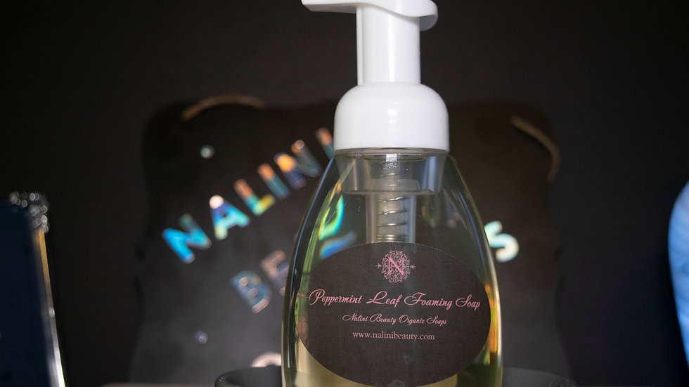 Nalini's Peppermint  Foaming Hand Soap