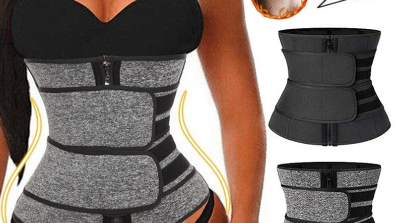 Neoprene Waist Trainer Corset Trimmer Belt for Women Weight Loss