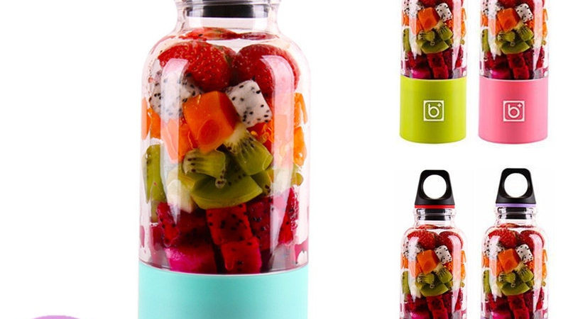 500ml 4/6 Blades Portable Blender Juicer