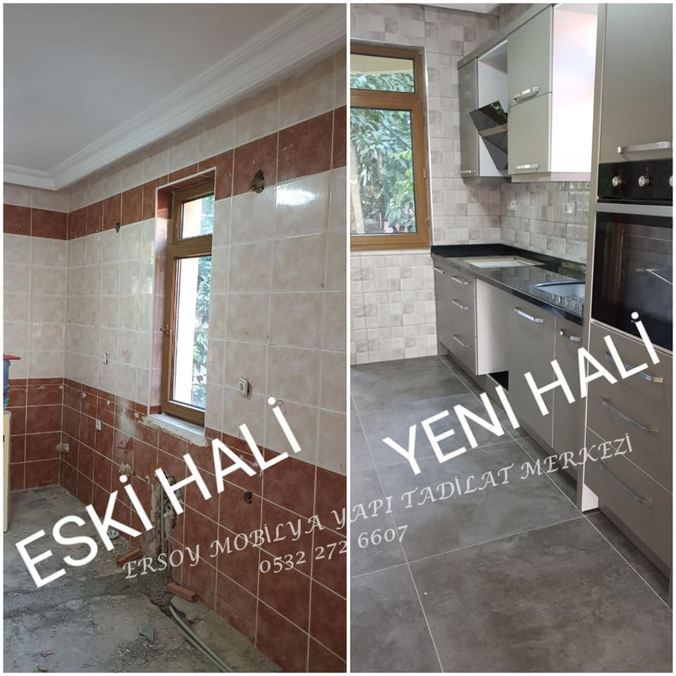 Alanya Kitchen Renovation