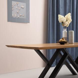 MR. W black dining table photo shoot 3 -