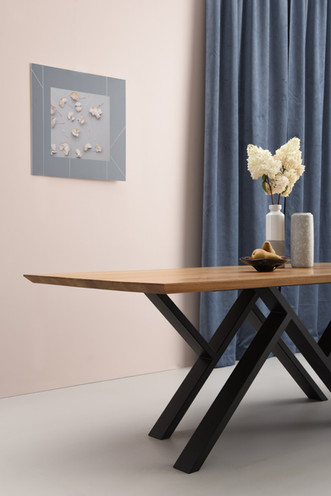 MR. W black dining table photo shoot 3 -