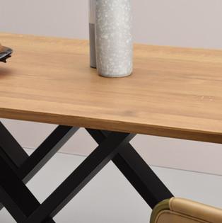 MR. W black dining table detail 1 - take