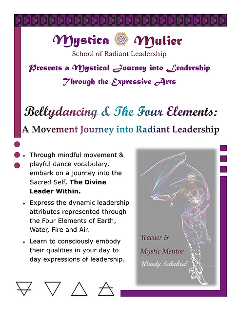 Bellydancing _The Four Elements Slide1_T