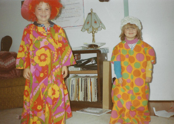 Clowning children